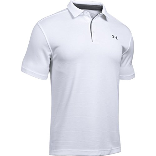 Under Armour Herren Tech Polo Kurzarmhemd, Weiß Weiß, M