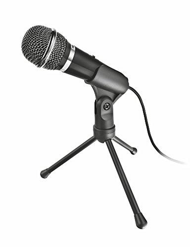 Trust Starzz All-round Mikrofon schwarz