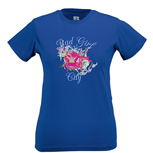 Bad Girl Stadt This Is Essex Art Independent Woman Frauen T-Shirt
