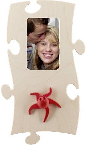 Puzzle Bilderrahmen Garderobe Oktopus Olga
