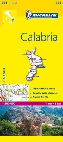 Mapa Local Calabria Italia Mapas Local Michelin