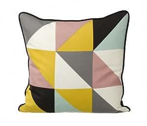 Ferm Living Remix Cushion - Yellow 50x50cm