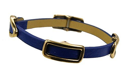 tokyobay-petra-bracelet-blue-leather-with-decorative-buckles-by-tokyobay
