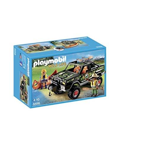 Playmobil Wild Life Adventure Pickup Truck 2piezas