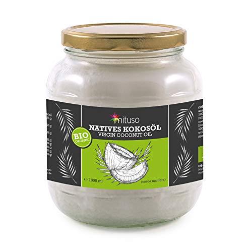 mituso bio kokosöl, Nativo, 1er Pack (1x 1000ml) en cristal