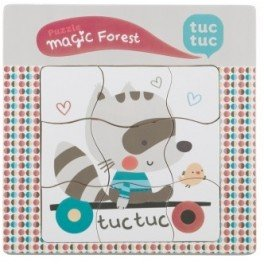 Tuc Tuc Magic Forest - Puzle madera