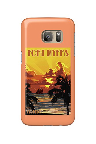 fort-myers-florida-sunset-and-ship-galaxy-s7-cell-phone-case-slim-barely-there