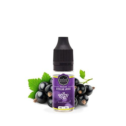 KNUQO E-liquid STELLAR Juice 10ml - Schwarze Johannisbeere-Geschmack | e-Zigarette | Wiederaufladbare Elektronische Zigarette Liquid | e Shisha | Nikotinfrei