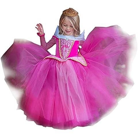 Ninimour Vestido de princesa Grimm's Fairy Tales Disfraces para Halloween Cosplay Costume para