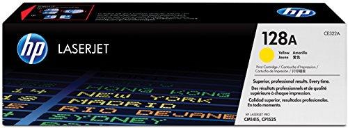 HP 128A (CE322A) Gelb Original Toner für HP Laserjet Pro CP1525, HP...