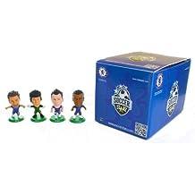 Soccerstarz Chelsea FC - Pack de 4 figuras de futbolistas (John Terry, Juan Mata, Ashley Cole y Petr Cech)