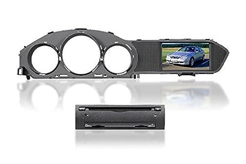 Gowe Split Typ Auto DVD-Player 17,8cm GPS Navigation für Benz C W204C180/C200/C230/C3002011–2013mit BT/Radio/RDS/IPOD/ATV/Canbus/SWC