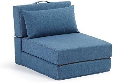 Kavehome Puf cama Arty, azul
