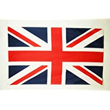 BANDERA del REINO UNIDO 150x90cm - BANDERA INGLESA - BRITANICA – UK 90 x 150 cm poliéster ligero - AZ FLAG