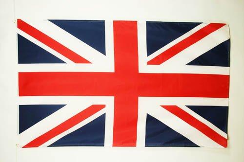 BANDIERA REGNO UNITO 150x90cm - BANDIERA BRITANNICA - INGLESE - UK 90 x 150 cm - AZ FLAG