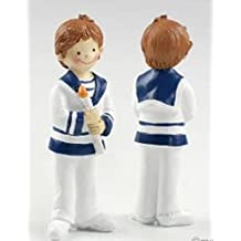 Mopec Y137 - Figura de Pastel para Comunión de niño con cirio d1131f5593526