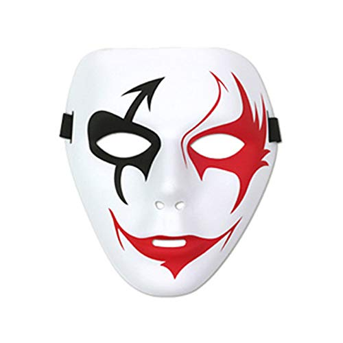 RCFRGV Halloween Maske Sensenmann Cosplay Kostüm Maske Kinder Erwachsene Männer Cosplay Halloween Karneval Maskerade Festival/Urlaub PVC (Kind Sensenmann Kostüm)