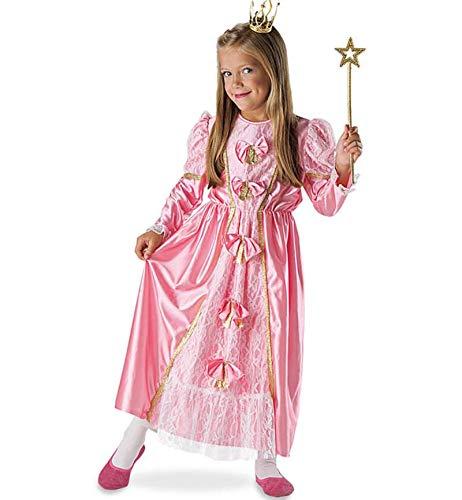 KarnevalsTeufel Kinderkostüm Prinzessin Nina Kleid, rosa/pink, Rüschen, Schleifen, -