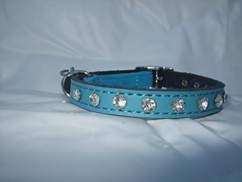 Cats Collier avec élastique de sécurité pour chat Clochette/imitation diamants
