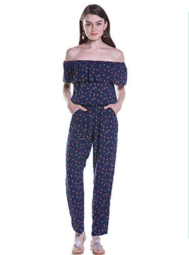 GBT Ein Trägerloses Siamesische Hosen Blau