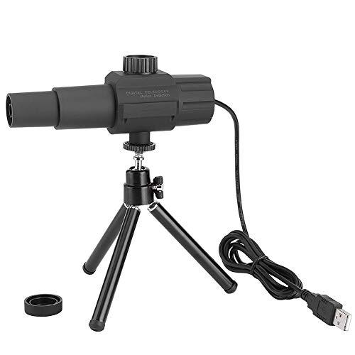 Telescopio Cámara, 2 Megapíxeles 70 Veces Lente de Zoom Telescopio Digital USB con Trípode Detección de Movimiento Inteligente, para competiciones Deportivas y conciertos, astronomía