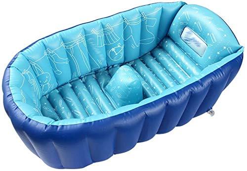 DLLZDYG Baño para bebés, bañera Inflable Suave y cómoda para recién Nacidos, niños,...