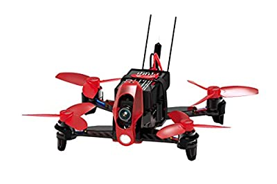 Walkera 15004160 FPV Racing Rodeo 110, FPV Drone Quadcopter with HD Camera Battery and Charger by Walkera