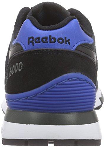 Reebok Jungen Gl 6000 Athletic Laufschuhe Schwarz (Gravel/Black/Blue Sport/White)