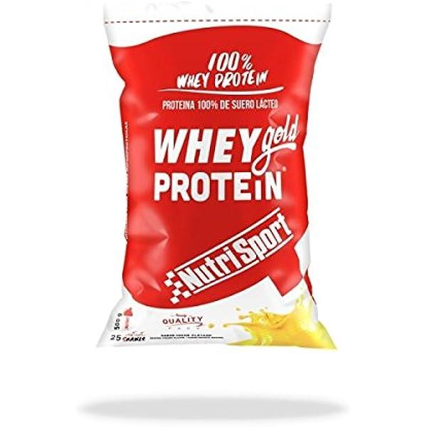 Nutrisport Whey Gold Protein 500 gr - Sabor - Chocolate ...