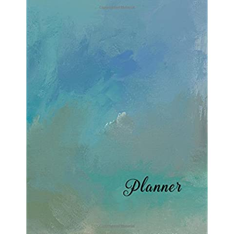 13 Month Planner: Undated - 2 Page Monthly Calendar Spread-Expense Records-Goal Planning-Weekly Notes-Huge Value