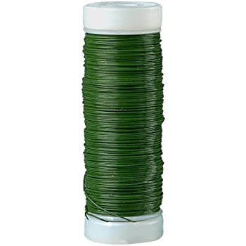 FLORIST STUB WIRE 0.7mm 22swg x 7.00  All colours All weights  500g 800 Metal