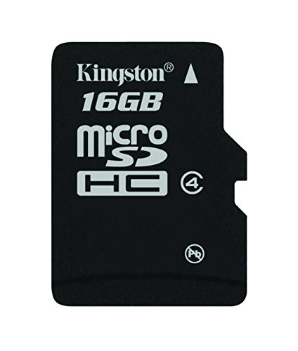 Galleria fotografica Kingston SDC4/16GB Scheda microSDHC, Classe 4, 16 GB
