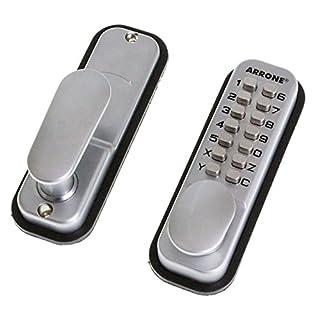Arrone Digital Push Button Key Pad Door Lock Hoppe Keyless Entry Code AR/D-195MC