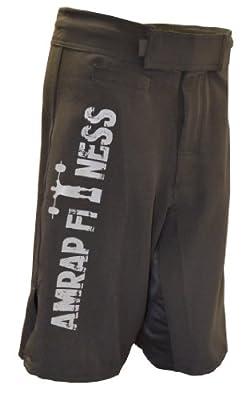 AMRAP Fightshorts Trainingshose Workout-Shorts kurz für Muay Thai, MMA, Freefight, Bodybuilding, Fitness, Vale Tudo, Combat Sport, Kampfsport Bekleidung