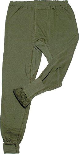 BW Winter Unterhose peluche, colore: verde oliva oliva