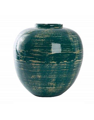Homeline-antik (Homeline Vase aus Bambus (30x30 cm) Blau-antik)