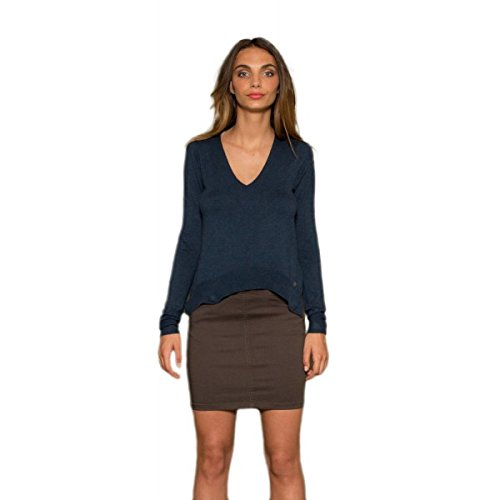Les P'tites Bombes -  Maglione  - Donna blu Large