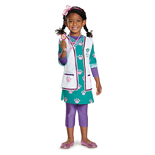 Disguise 88095K Doc Pet Vet Deluxe Costume, Medium (7-8) by ()