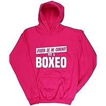 HippoWarehouse ¡FUERA DE MI CAMINO! VOY A BOXEO jersey sudadera suéter derportiva unisex niños niñas