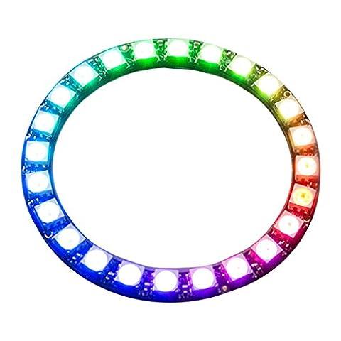Cloud LED 24-Bit Ws2812 5050 LED Round Full Drive Drive Lantern Module