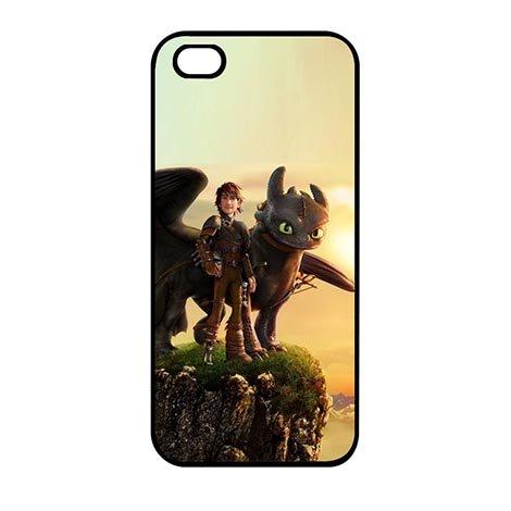 Hot Custom How to Train Your Dragon iPhone SE/iPhone 5/iPhone 5S Hard Kunststoff Case, No. 05 Logo Custom Iphone
