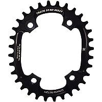 Leonardi Factory Oval Track BCD 96 XT - Plato de bicicleta, color negro, talla 34