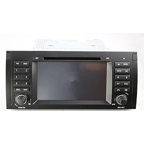 GOWE reproductor DVD para coche 7pulgadas navegación GPS para BMW X5E53/serie 5E391998–2006con Bluetooth/Radio/RDS/iPod/ATV/Canbus/SWC