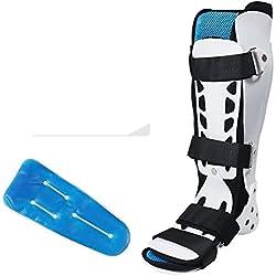CHENG Gelenk Fixed Brace Kalb Knöchelbruch Verstauchung Protector Foot Droop Orthese Korrektur Schuhe,Reinforcedleftfoot,L