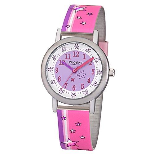 Regent Reloj Analogico para niñas de Cuarzo con Correa en Plástico 12400273