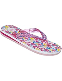 Trespass Girls Eolas Printed Sole Summer Beach Flip Flop Sandals