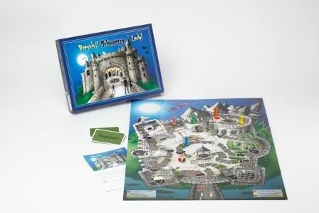 Preisvergleich Produktbild Die Geisterburg - Das schaurig-schöne Familienspiel