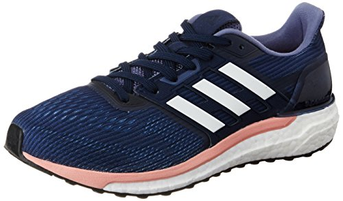 adidas Supernova, Zapatillas de Running para Mujer, Azul (Midnight Grey/Footwear White/Still Breeze), 37 1/3 EU
