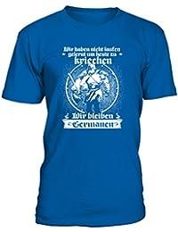 Kinder T-Shirt Nordmännchen Größe 86-164 Mädchen Jungen Wikinger Germanen