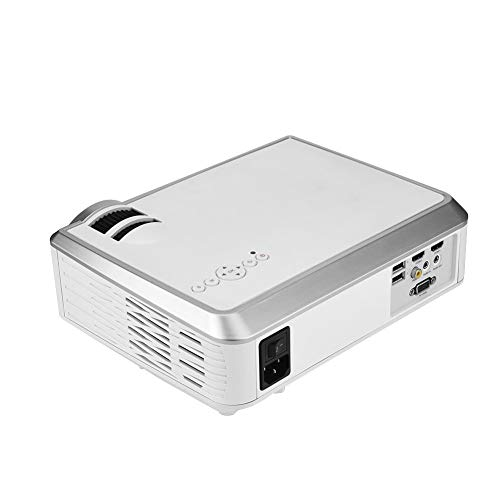 Projector HD, HiFi SRS Audio, VGA HDMI USB Audio Video Ports Home Theater 4:3/16:9 screen/2000LM LED/DVBT/ATSC Signal Atsc Led